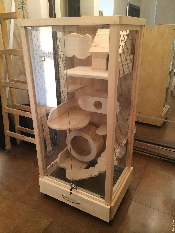 Как построить витрину для шиншилл своими руками 48