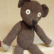 Куклы и игрушки ручной работы. Ярмарка Мастеров - ручная работа медвежонок мистера Бина. Handmade.
