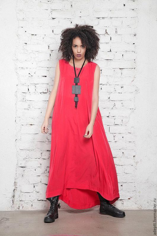 Платья ручной работы. Ярмарка Мастеров - ручная работа. Купить Длинное Летнее Платье. Handmade. Длинное платье в пол
