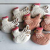 Сувениры и подарки ручной работы. Ярмарка Мастеров - ручная работа пряник курочка. Handmade.
