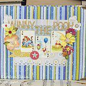 """Канцелярские товары ручной работы. Ярмарка Мастеров - ручная работа Фотоальбом """"Winny The Pooh"""". Handmade."""