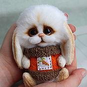 Куклы и игрушки ручной работы. Ярмарка Мастеров - ручная работа Малыш зайка. Handmade.