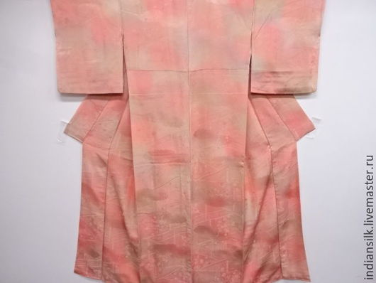 Одежда. Ярмарка Мастеров - ручная работа. Купить ШОК-ЦЕНА Винтажное кимоно из натурального фактурного шелка. Handmade. Комбинированный