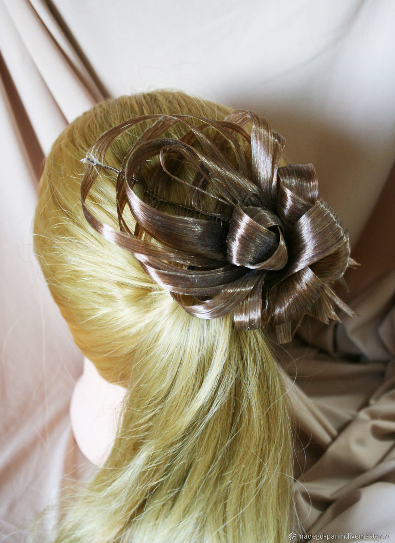 Заколка для волос постижерная №54
