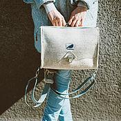 Сумки и аксессуары ручной работы. Ярмарка Мастеров - ручная работа Трансформер. Сумка-рюкзак из войлока. Handmade.