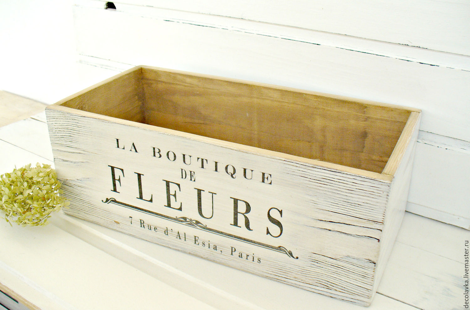 Order Wooden Crates Wooden Storage Boxes Home Decor