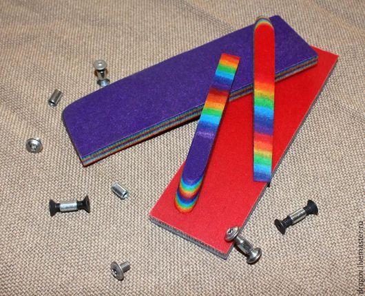 Оружие ручной работы. Ярмарка Мастеров - ручная работа. Купить Micarta #43 Rainbow. Handmade. Микарта, пластик