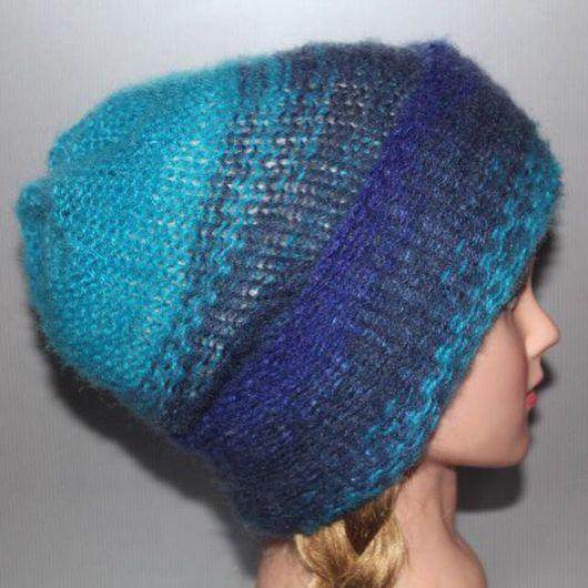 """Шапки ручной работы. Ярмарка Мастеров - ручная работа. Купить Двойная, тёплая шапка """"Выворачивай, как хочешь """". Handmade. Шапка"""