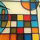 Часы для дома ручной работы. Часы настенные из стекла. il Vetro художественное стекло. Интернет-магазин Ярмарка Мастеров.