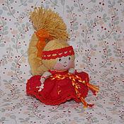 Куклы и игрушки ручной работы. Ярмарка Мастеров - ручная работа Куколка на счастье Марьюшка. Handmade.