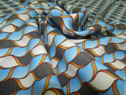 Шитье ручной работы. Ярмарка Мастеров - ручная работа. Купить -10% Плательная шерсть, E1. Handmade. Комбинированный, шерстяное платье