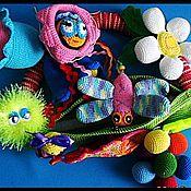 """Куклы и игрушки ручной работы. Ярмарка Мастеров - ручная работа Развивающая игрушка""""Супер-стручок"""".. Handmade."""