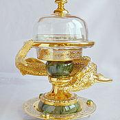 Посуда handmade. Livemaster - original item Set for caviar
