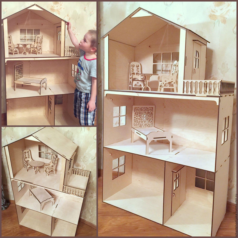 Кукольные домики своими руками материалы 88