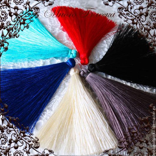 Для украшений ручной работы. Ярмарка Мастеров - ручная работа. Купить Кисти шелковые для украшений палитра 1. Handmade. Кисти