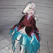 Куклы и игрушки ручной работы. Ярмарка Мастеров - ручная работа Девочка лошадка. Нора. Handmade.