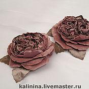 Для дома и интерьера ручной работы. Ярмарка Мастеров - ручная работа Староанглийские розы для украшения штор и подушек. Handmade.