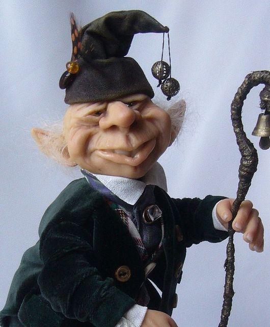 Коллекционные куклы ручной работы. Ярмарка Мастеров - ручная работа. Купить Мастер церемоний. Handmade. Интерьерная кукла