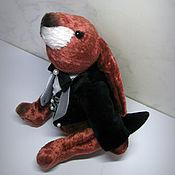 Stuffed Toys handmade. Livemaster - original item March rabbit (Gospodari). Handmade.