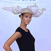 Аксессуары ручной работы. Ярмарка Мастеров - ручная работа шляпа лунария. Handmade.