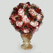Цветы и флористика handmade. Livemaster - original item Flowers from a hematite