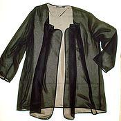 Винтажная одежда ручной работы. Ярмарка Мастеров - ручная работа Накидка легкая Cavita, размер 48-50. Handmade.