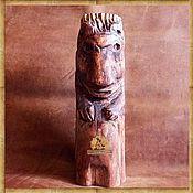 Фен-шуй и эзотерика ручной работы. Ярмарка Мастеров - ручная работа Шаман Медведь деревянный идол. Handmade.