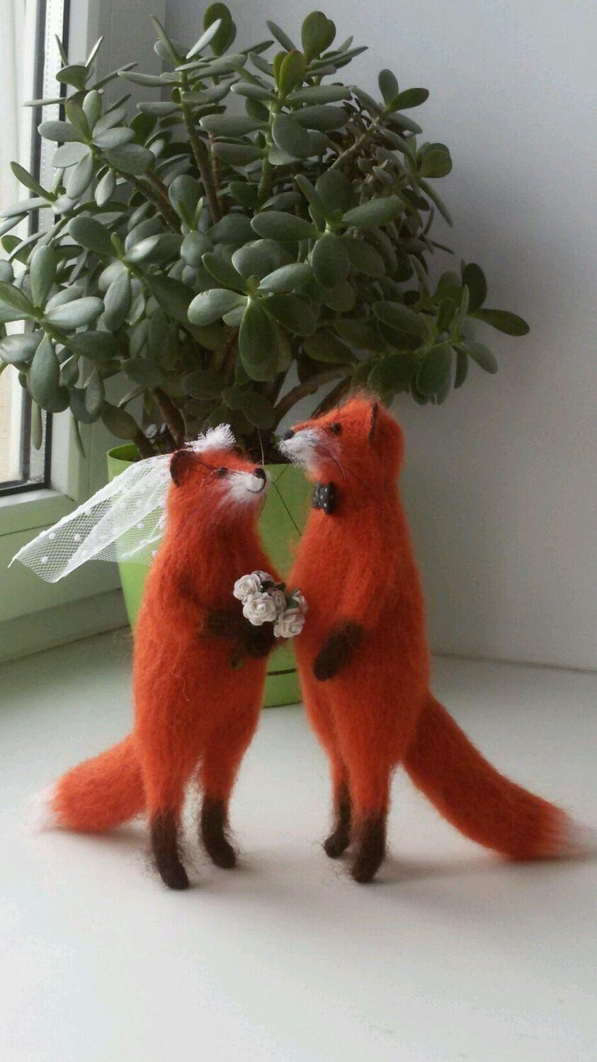 Свадебные лисы, Подарки, Уфа,  Фото №1