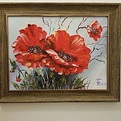 Картины и панно ручной работы. Ярмарка Мастеров - ручная работа Маки. Handmade.