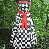 """Одежда ручной работы. Ярмарка Мастеров - ручная работа платье""""черно-белое кино"""". Handmade."""
