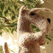 Куклы и игрушки ручной работы. Ярмарка Мастеров - ручная работа Скотч терьер пшеничного окраса. Handmade.