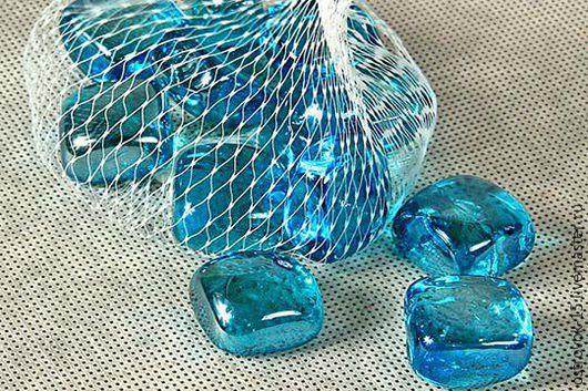 Другие виды рукоделия ручной работы. Ярмарка Мастеров - ручная работа. Купить Стеклянные элементы декора Марблс Кубы. Handmade.