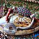 """Браслеты ручной работы. Ярмарка Мастеров - ручная работа. Купить браслет """"Гималайская черепаха"""". Handmade. Коралловый, непал, кораллы"""