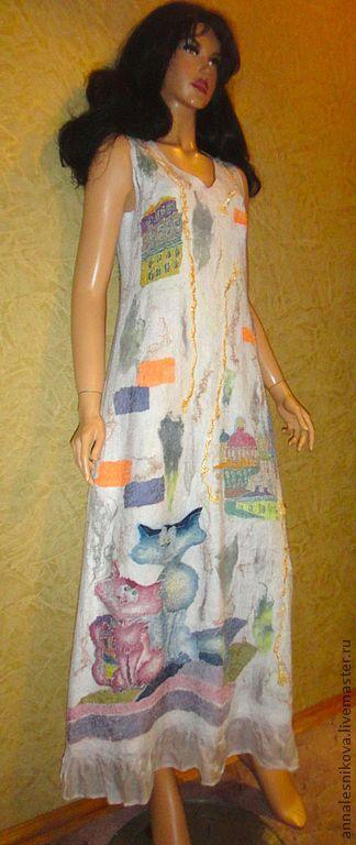 """Платья ручной работы. Ярмарка Мастеров - ручная работа. Купить Платье """"Опять свадьба на крыше"""". Handmade. Платье, свадьба"""