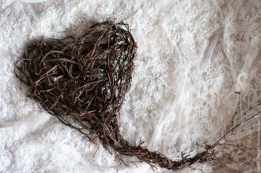 Декоративное сердце для интерьера или оформления праздника #avelvidesign