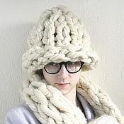 Аксессуары handmade. Livemaster - original item Hat knit Helsinki Hat Trend winter season 2017. Handmade.