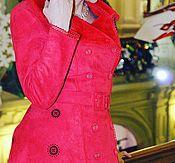 Одежда handmade. Livemaster - original item coat! Coat stylish!Coat red !. Handmade.