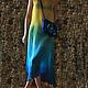 Пляжные платья ручной работы. Ярмарка Мастеров - ручная работа. Купить Сарафан полупрозрачный В цветах Ван Гога.. Handmade.
