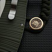 Сувениры и подарки handmade. Livemaster - original item Copy of the work of the compass knife Bead, knife bead. Handmade.