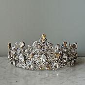 Свадебная корона-тиара  Silver Queen