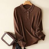 Одежда handmade. Livemaster - original item Jumper-shirt ( cashmere 100% ). Handmade.
