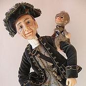 """Куклы и игрушки ручной работы. Ярмарка Мастеров - ручная работа Авторская Кукла """"Хозяин  морей"""" из полимерной глины. Handmade."""