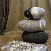 Для дома и интерьера ручной работы. Ярмарка Мастеров - ручная работа Камни валяные. Handmade.