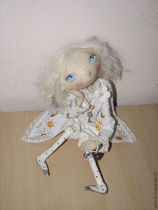 """Ароматизированные куклы ручной работы. Ярмарка Мастеров - ручная работа. Купить """"Мечтающий Ангел"""" Авторская кукла. Handmade. Белый, ангел"""