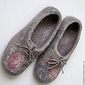 """Обувь ручной работы. Ярмарка Мастеров - ручная работа тапочки """" русский сувенир """". Handmade."""
