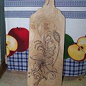 Для дома и интерьера handmade. Livemaster - original item Cutting Board, serving Board