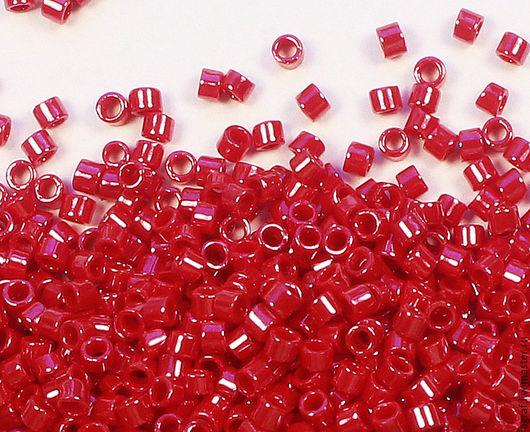 Для украшений ручной работы. Ярмарка Мастеров - ручная работа. Купить TOHO Treasure 125 Opaque-Lustered Cherry Тохо трежерс японский бисер. Handmade.