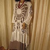 Одежда handmade. Livemaster - original item Dress plus tunic. Handmade.