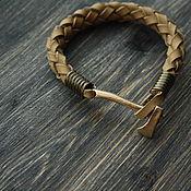 Украшения handmade. Livemaster - original item Men`s bracelet with an axe. Handmade.