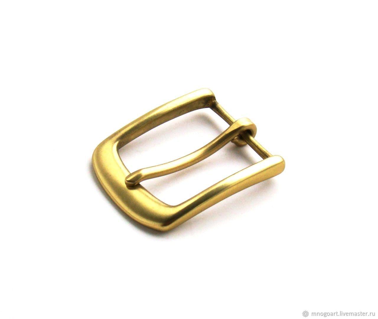 Пряжки для ремня латунь 40 мм, Фурнитура для шитья, Балабаново,  Фото №1